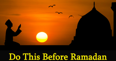 Do This Before Ramadan | infocorner.net